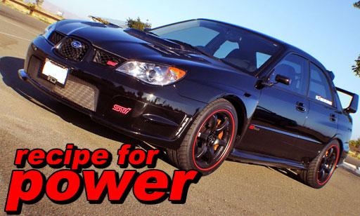 """Recipe for Power"" STI 2006"