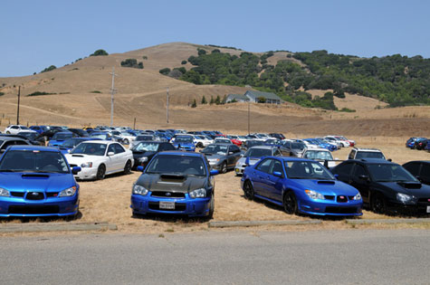 FLI or Fine Line Imports at Subaru Bay Area Meet 2009 in Novato California BAM