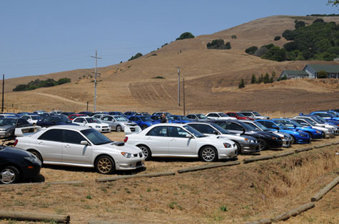 ine Line Imports at Subaru Bay Area Meet 2009 in Novato California BAM