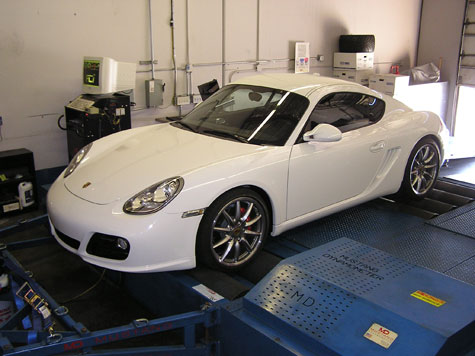 2011 Porsche Cayman S, built by 9 Elf Motorsports, Tuned by Fine Line Imports or FLI