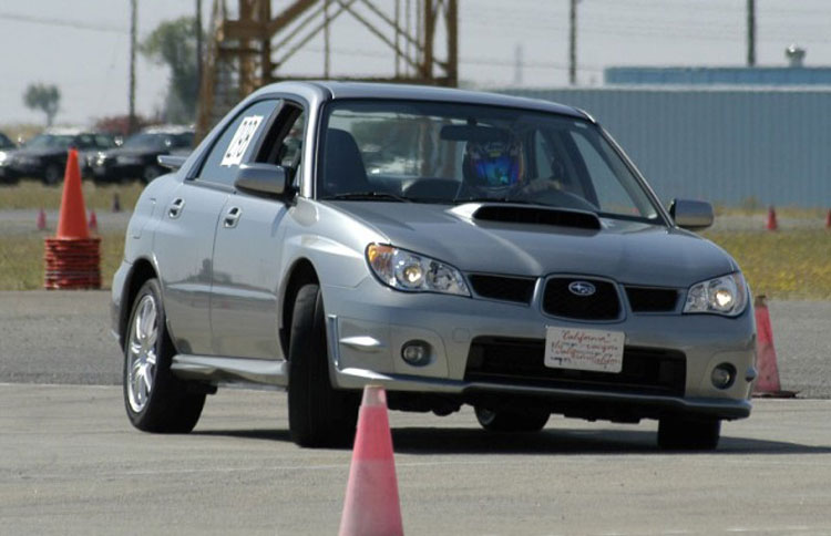 "FLI's ""Fresh and Clean"" 07 WRX Limited racing pics 4"