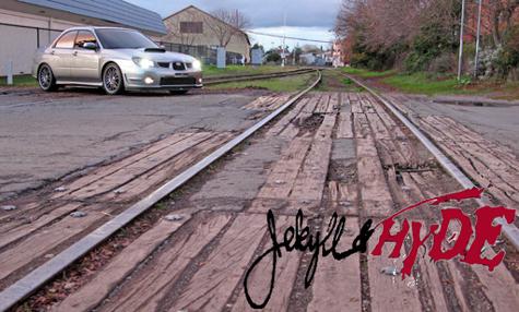 Fine Line Imports or FLI built 2007 Subaru STI Limited #417, A.K.A. Jekyl & Hyde, Brad Wells