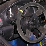 race car steering wheel