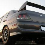 2006 Mitsubishi EVO 9 MR bottom view