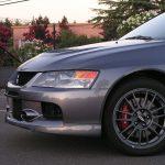 2006 Mitsubishi EVO 9 MR hood view