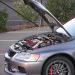 2006 Mitsubishi EVO 9 MR engine