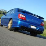 2002 Generation 1 Subaru WRX Rear