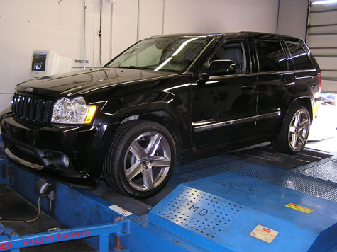 Sinister Performance 2006 Jeep SRT/8 Tuned by FLI